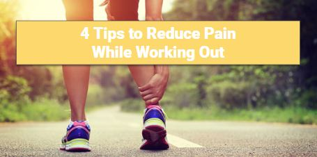 this is a picture of our featured image for our amazing article on reducing pain for workouts